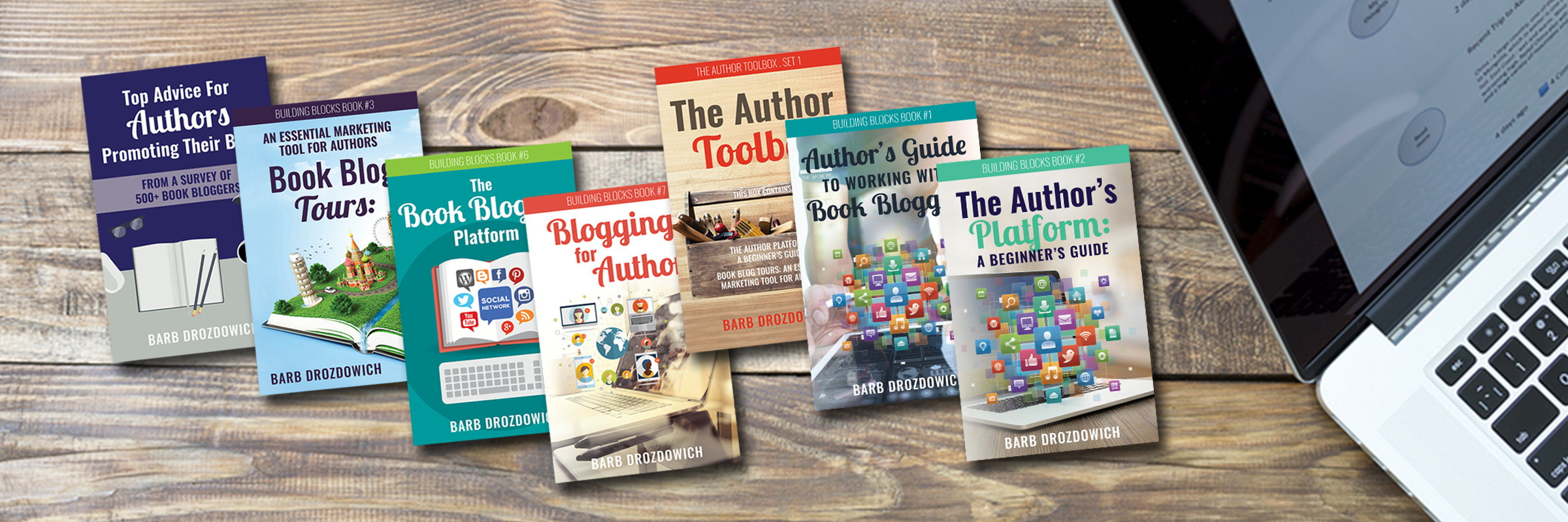 Barb Drozdowich tech helpful hints book covers