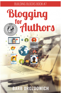 Blogging for Authors - Silver Award